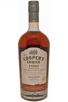Glen Keith 21 Jahre 1996, (S), Cooper's, Single Cask Malt