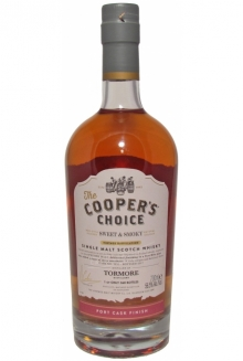 Tormore Peaty No Age, Cooper's Choice, Single Malt (PF)