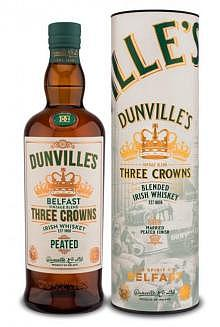 Dunville's Three Crowns Peated Irish Blend