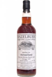 Hazelburn 8 Jahre 1997, Originalabfüllung, Single Cask Malt