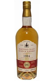 Burnside 25 Jahre 1994, TWCC, Scottish Single Cask Malt